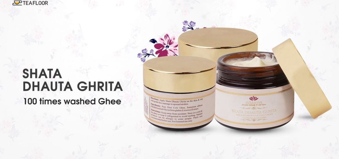 Making of 100 Times Washed Ghee Shata Dhauta Ghrita The