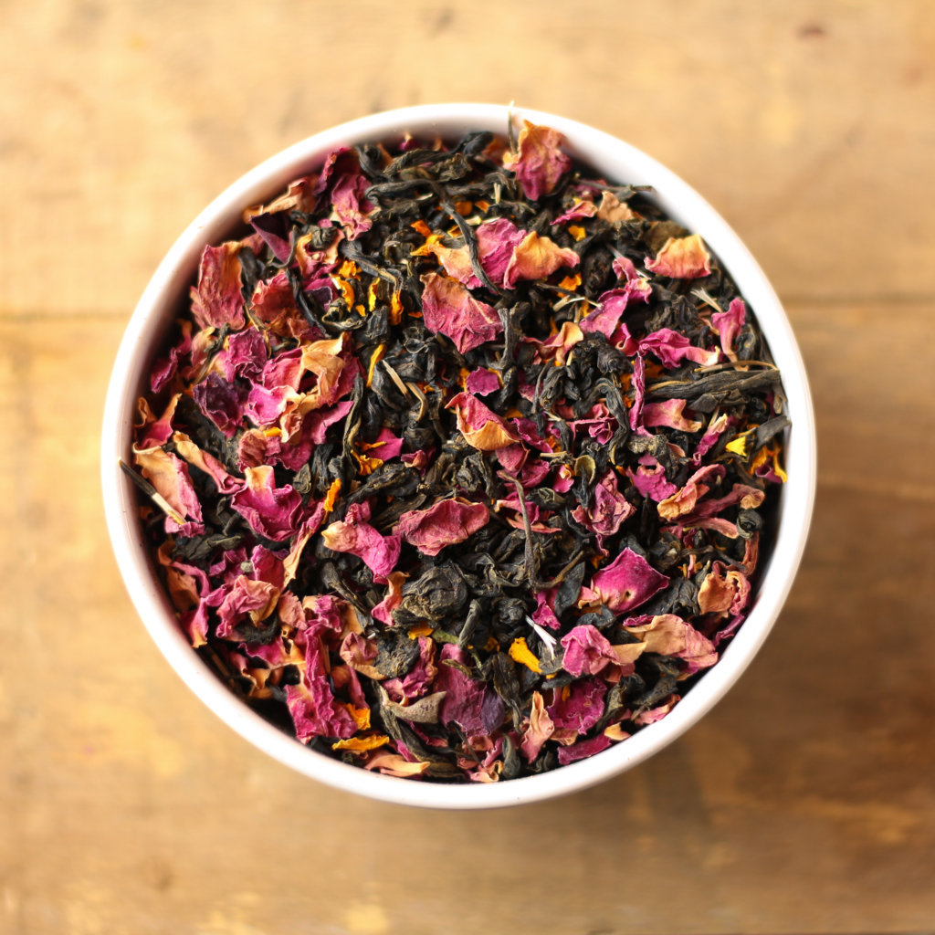 Buy Exotic Rose Green Tea Online